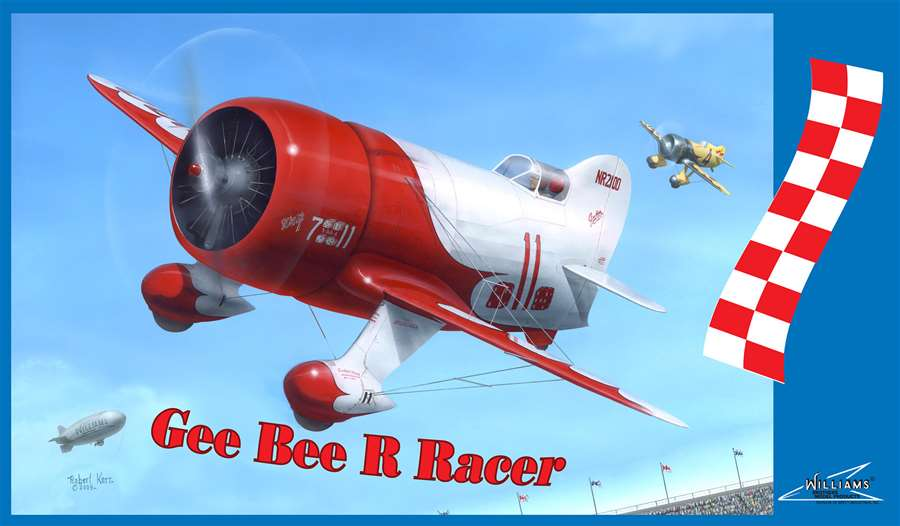 Gee Bee Racer_maquette plastique_williams