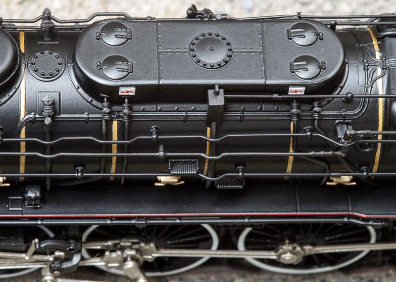 Locomotive à vapeur Märklin 39241, modèle SNCF 241 a. Source : Märklin.
