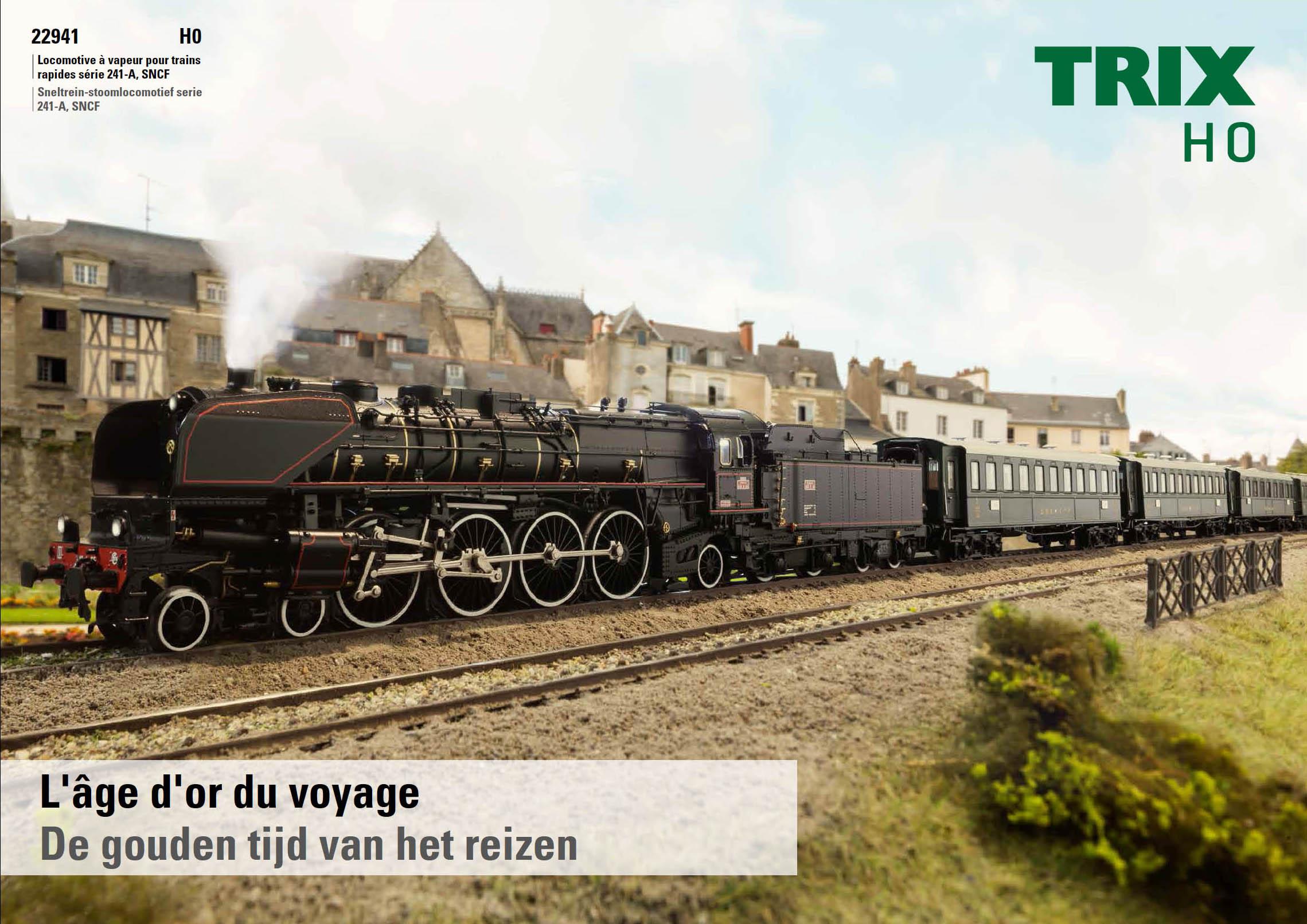 La 241-A SNCF Trix 22941 en système 2 rails HO. Source Trix.