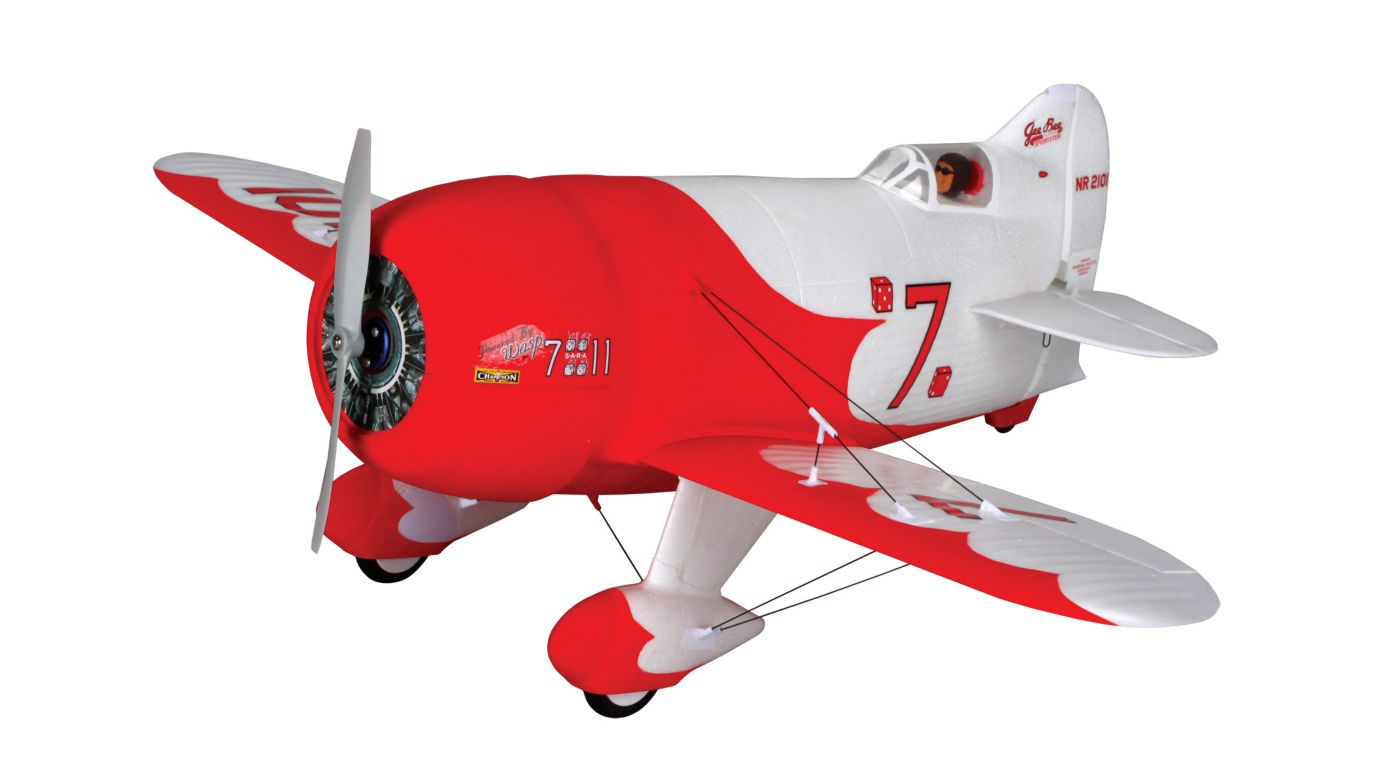 UMX Gee Bee R2 BNF with AS3X Technology_2