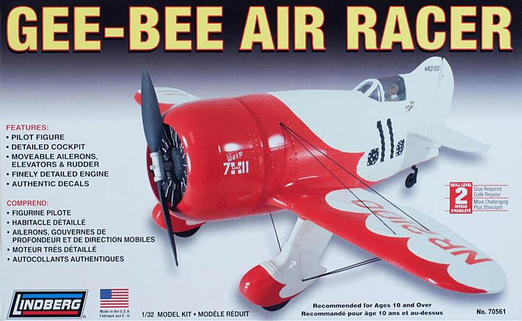 maquette plastique Gee Bee