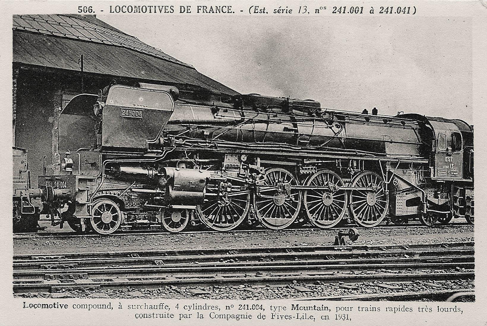 locomotive à vapeur française