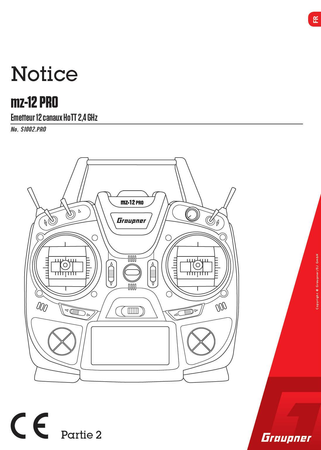 Téléchargez la notice de la Graupner MZ-12 Pro