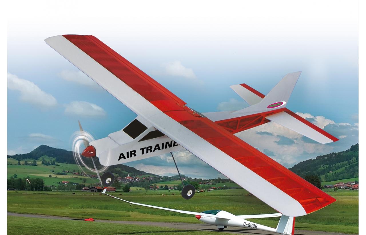 avion thermique débutant en kit