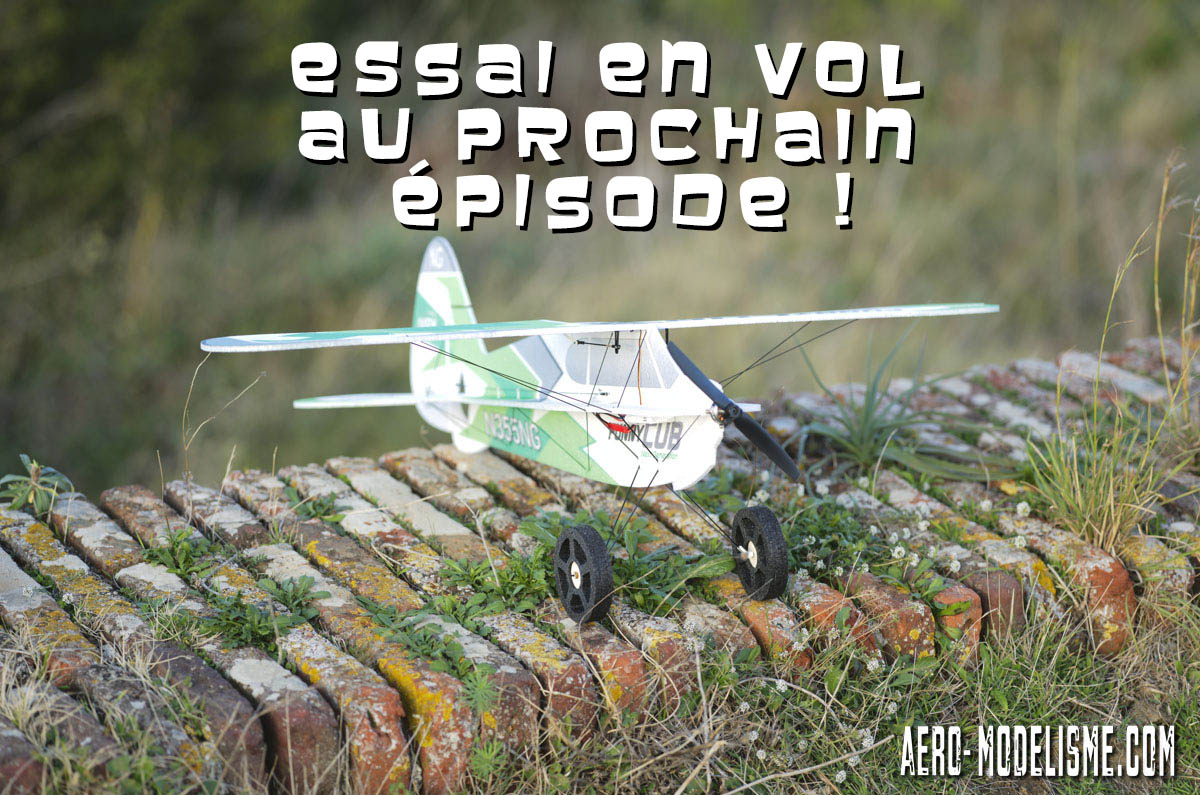 essai en vol Funny Cub avion rc Multiplex