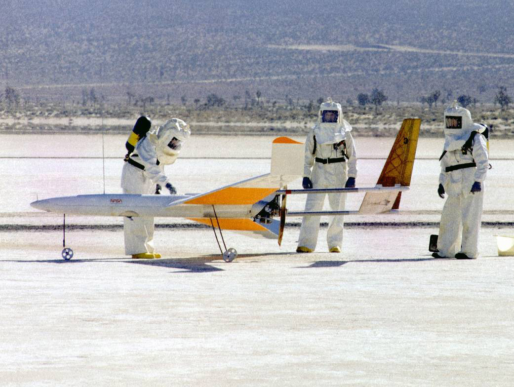 nasa avion rc