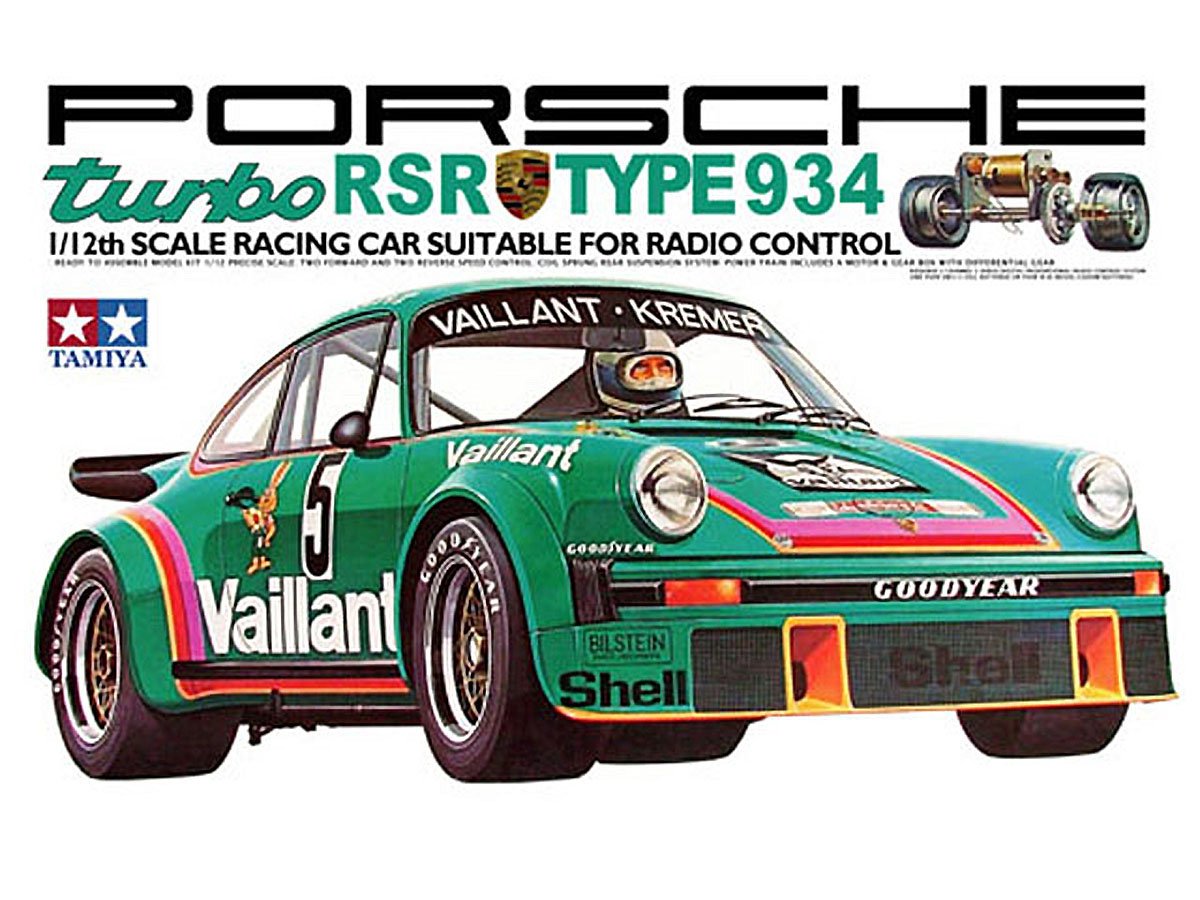 58001 tamiya Porsche 934