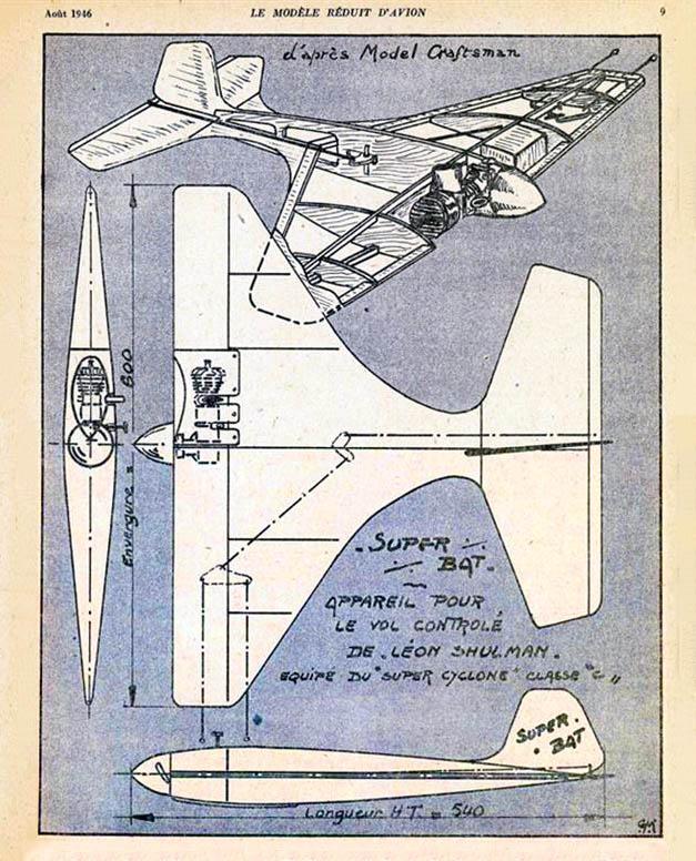 La Super Bat de Léon Shulman